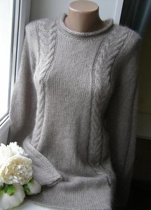 Пуловер из 100%кашемира ручная работа m-xl размер