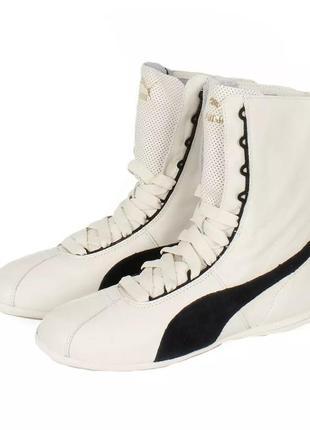 Кроссовки женские ,ботинки натуральная кожа puma eskiva hi wn ...