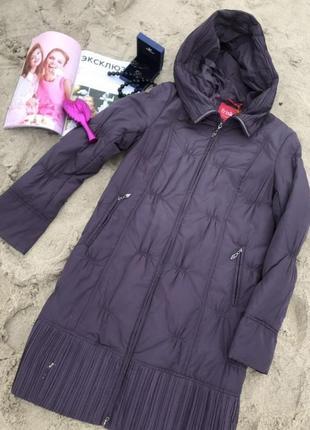Оригинальное демисезонное женское пальто,большой размер!осення...
