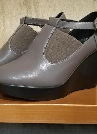 Туфли женские на платформе, ботильоны