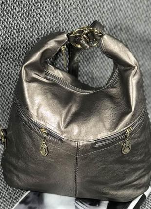 Стильная вместительная женская сумка