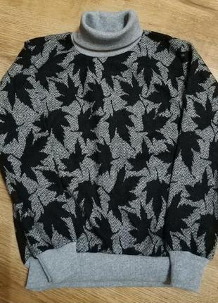 Теплый детский свитер, для девочек и мальчиков