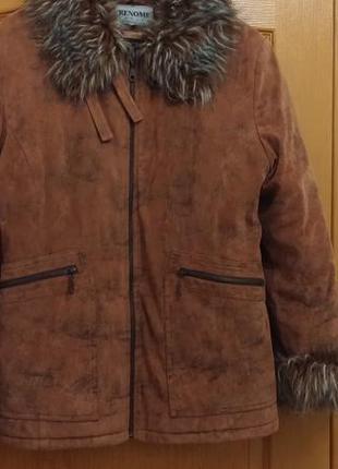 Куртка женская зимняя, б/у