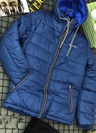 Зимняя теплая мужская куртка,пуховик ,  подросток, см.описание!