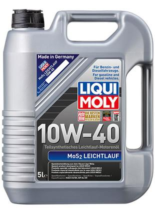 Полусинтетическое моторное масло - MoS2 Leichtlauf SAE 10W-40 5 л