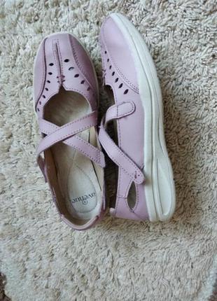 Шкіряні спортивні макасіни,туфлі,босоніжки ніжно-розового коль...
