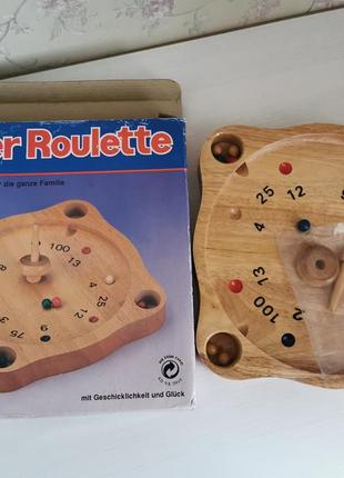 Настольная игра супер рулетка