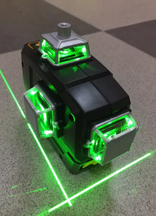 Deko 12 Линий Зелёный Лазерный Уровень • Нивелир • (360°)