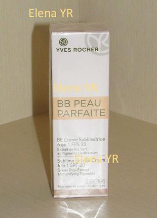 Bb-крем для лица безупречная кожа ив роше