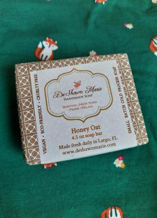 Deshawn marie honey oat шикарное подарочное мыло ручной работы...