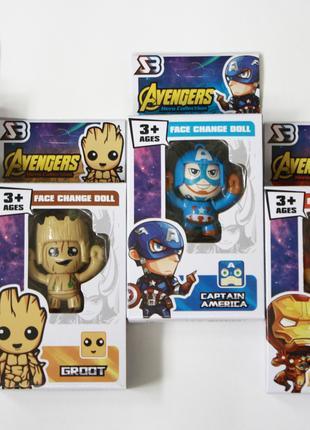 Брелок-фигурка Avengers-Marvel для любителей комиксов