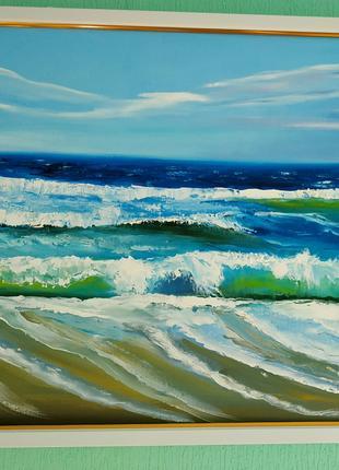 """Картина ,, Прибрежные волны"""""""