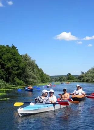 Отдых на байдарках и каяках, сплавы по рекам Украины