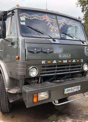 Зерновоз КАМАЗ 5320 + прицеп