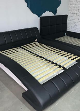 Стильная двуспальная кровать с подъемным механизмом Tirana