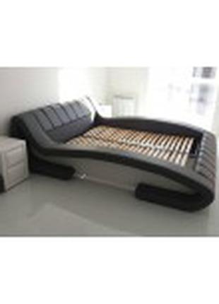 Кровать подиум с подъемным механизмом, кровать-подиум возле окна.