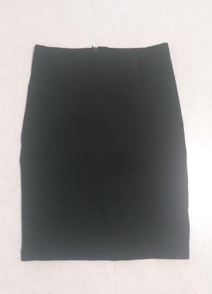 #розвантажуюсь классическая чёрная мини юбка