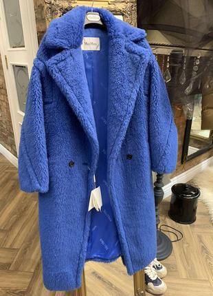 Пальто-шуба teddy max mara