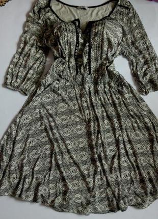 Платье миди 54 52 размер футляр осеннее нарядное с рукавом бюс...