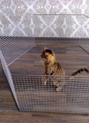 Вольер манеж клетка для небольших собак щенков кроликов котят и п