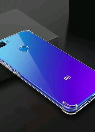 Чехол противоударный Xiaomi mi 8 lite