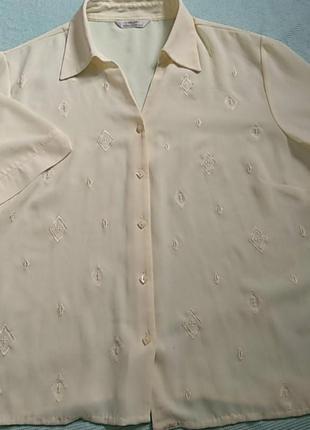 Блуза летняя большой размер 52-54