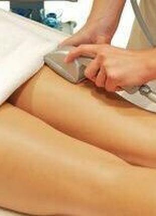 Вакуумно-роликовый массаж, аппаратная коррекция фигуры, кавитация