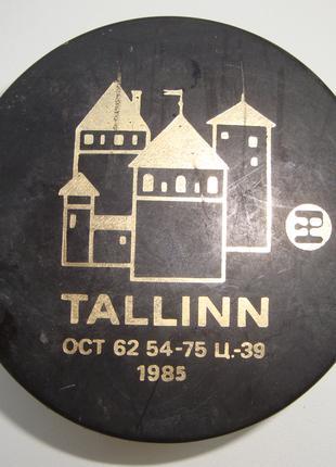 """Хоккейная шайба """"Золотая шайба"""" Tallinn 1985 год"""