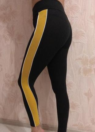 Трикотажные спортивные штана new look р. 42-44