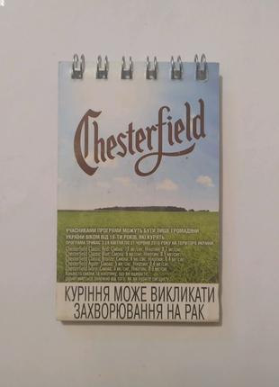 Спички Chester Field. В коллекцию.
