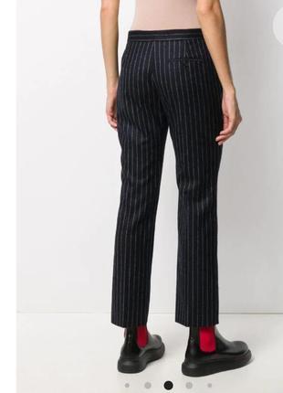Женские брюки мужского кроя в стиле alexander mcqueen р.40