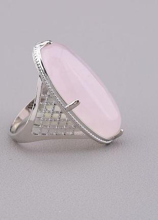 Кольцо розовый кварц 'pataya'  0846690