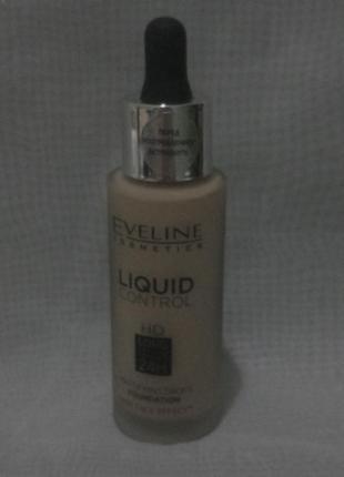 Liquid control hd mattifying drops foundation жидкая тональная...