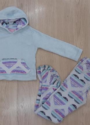 Пижама теплая  флис