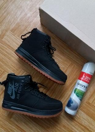 Женские зимние кроссовки Nike Найк (ботинки, сникерсы)