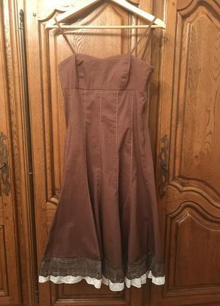 Платье 👗 на бретельках