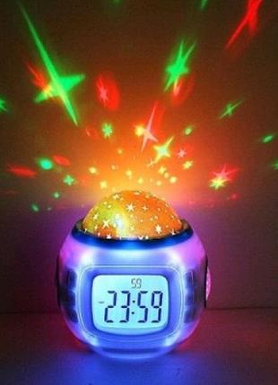 Часы-проектор звездного небо