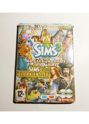 The SIMS 3 Золотая коллекция, Коллекционное издание 12 в 2 DVD ПК