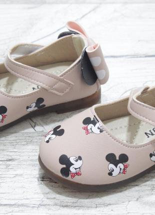 Детские туфельки с мики