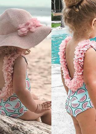 Детский милый купальник для девочки