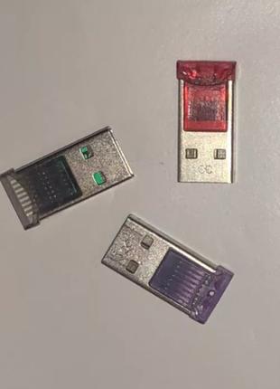 Кардридер USB Micro SD