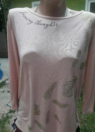 Блуза, кофта нежно-розового цвета