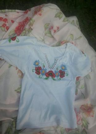 Вышиванка, рубашка, блузка, ручная работа