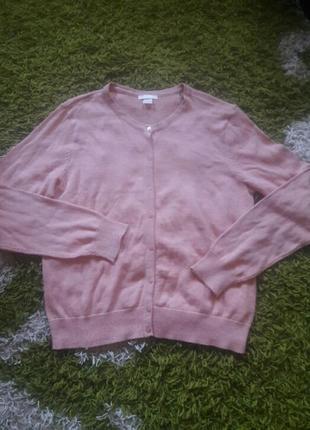 Кофта, джемпер нежно- розового цвета