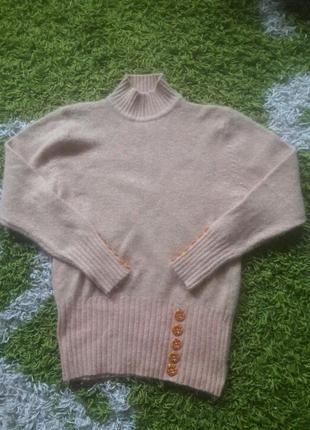 Теплый свитер 60% ангора