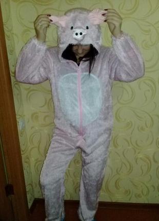 Карнавальный костюм свинья взрослый sale