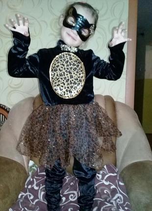 Карнавальный костюм кошечки 7-8лет.