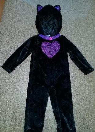 Карнавальный костюм кошка 3-4года.