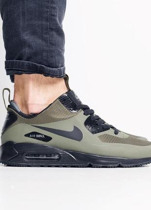 Nike air max 90 winter haki мужские кроссовки осенние на термо...