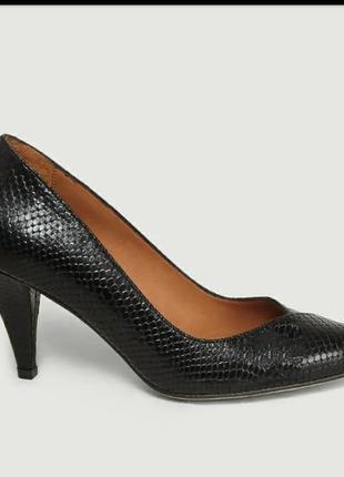 Next туфли из кожи змеи питона р 39